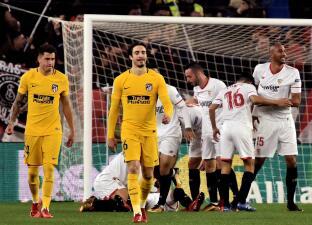 Sevilla clasificó a semifinales de Copa del Rey contra un Atlético de Madrid impotente