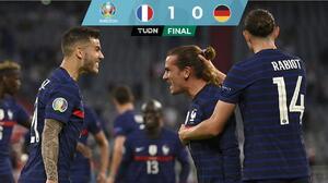 Allez la France! Con un autogol de Hummels, Francia derrota a Alemania