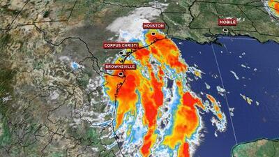 Texas emite declaración de desastre para más de 50 condados ante la llegada de sistema tropical