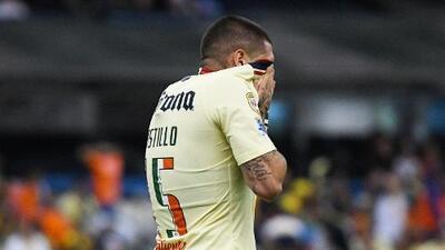 Nico Castillo no terminó el entrenamiento del América