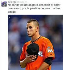 El béisbol unido por la muerte de José Fernandez