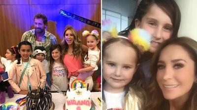 Así vivieron Gabriel Soto y Geraldine Bazán el cumpleaños de sus hijas tras su ruptura