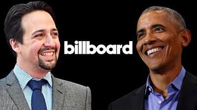 Barack Obama sorprende en Billboard (otra vez) junto a Lin-Manuel Miranda con un remix de 'Hamilton'
