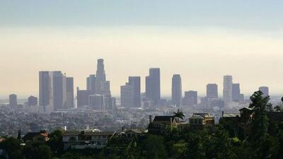 Condiciones secas y constantes vientos, el pronóstico para la tarde de miércoles en Los Ángeles