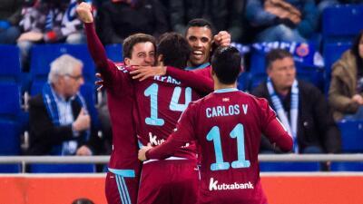 Espanyol 0-5 Real Sociedad: La Real apabulla al Espanyol con goles de Vela y Reyes