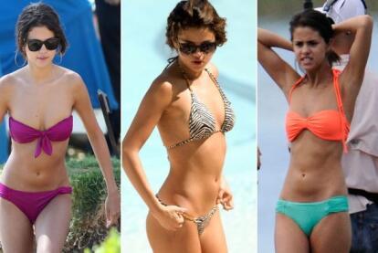 Selena Spice En El Bano.Selena Gomez Ama Los Bikinis Famosos Univision