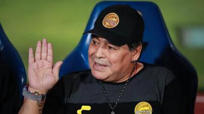Maradona abandona a sus ex compañeros argentinos mundialistas en México 1986
