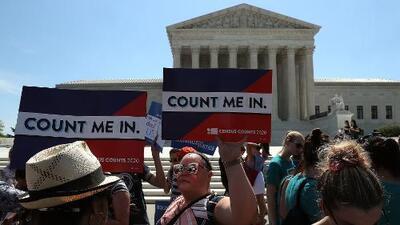 Revés para Trump: la pregunta de ciudadanía en el censo no va, al menos por ahora