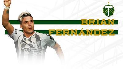 Es oficial: Brian Fernández es nuevo jugador franquicia de Portland Timbers