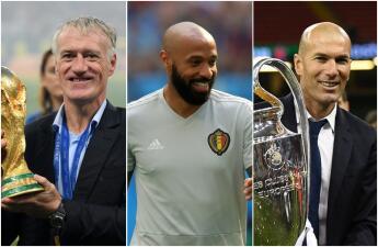 Henry, Deschamps y otros campeones del mundo en Francia 98 que buscan gloria como técnicos