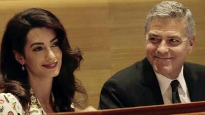 ¿Cómo celebraron George y Amal Clooney su segundo aniversario?