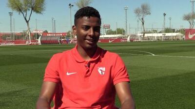 """Joao Maleck sobre Lainez: """"Jugué contra él y siempre vi que es un jugador diferente"""""""