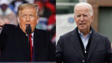 Trump y Biden realizan actos en campaña en Pennsylvania en medio de la amenaza latente del coronavirus