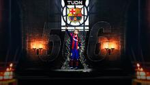 Logra nueva marca Messi en el Barcelona y supera a Xavi