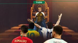 Neymar Junior se proclama el Rey del Futbol