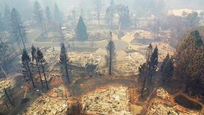 Confirman que cableado eléctrico de PG&E provocó el incendio Camp, el más letal en la historia de California