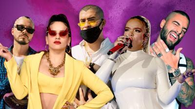 Así la están rompiendo alrededor del mundo los cantantes del género urbano