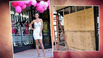 Ana Patricia cerró su boutique ante la inminente llegada del huracán Irma a Miami