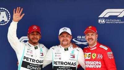 Valtteri Bottas se queda con la Pole del Gran Premio de China