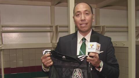 UDN estuvo en la intimidad del vestidor de la Selección Mexicana