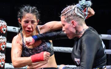 En fotos: la brutalidad y valentía de los peleadores del Bare Knuckle Fighting Championship