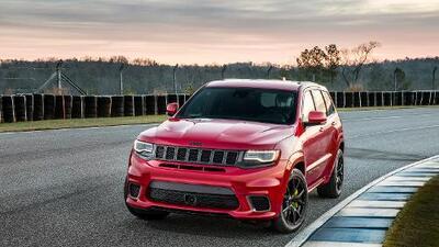 En video: La Jeep Grand Cherokee Trackhawk 2018 es la SUV mas poderosa
