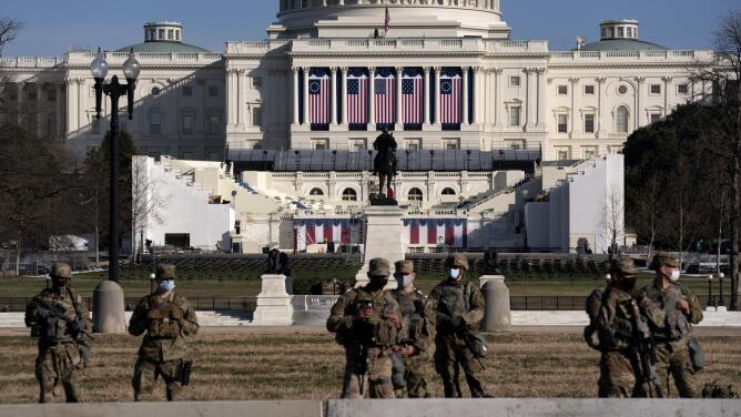 FBI rastrea posibles amenazas de ataques en Washington durante la posesión de Joe Biden