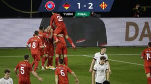 ¡Histórico! Macedonia derrotó a Alemania en Eliminatoria a Catar 2022