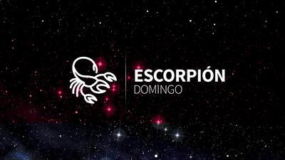 Escorpión – Domingo 31 de diciembre del 2017: Se aclara una duda que te tenía inquieto