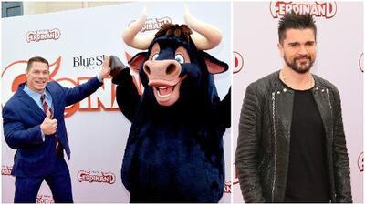 John Cena y Juanes les dan vida a estos personajes en la cinta 'Ferdinand'