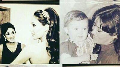 Anahí felicitó a su mamá con tierna fotografía