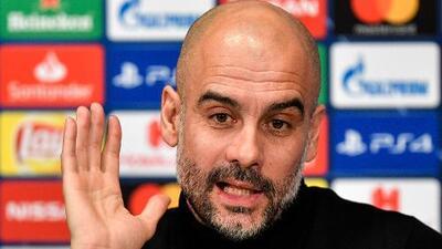 Guardiola se desmarca y asegura que no son favoritos ante el Schalke en Champions