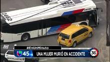 En Un Minuto Houston: Un mujer de 68 años murió en un choque que involucró a cinco vehículos