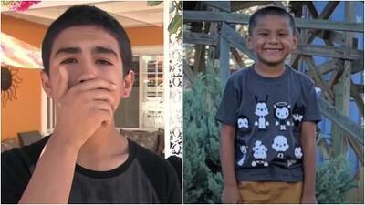 """""""Me imagino que aún está vivo"""": Primo del niño fallecido en el tiroteo de California está desconsolado por su pérdida"""