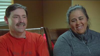 Esta pareja mexicana nunca perdió la fe de vivir sin miedo y tener algún día su tarjeta de residencia en EEUU