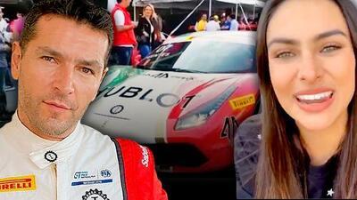 Renata Notni quedó temblando luego que Martín Fuentes le hizo de 'Uber' en un Ferrari a 300 km/h
