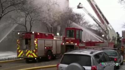 Explosión en un edificio de Minneapolis