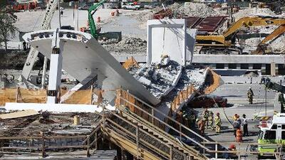 Víctimas del colapso del puente peatonal de FIU dicen estar satisfechos con los resultados de la investigación