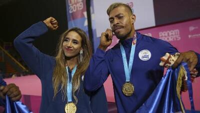 El Salvador vive un día histórico con 3 oros en Lima 2019