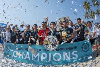 En fotos: ¡Campeones! El Tri de playa se quedó con el título del Premundial de Concacaf