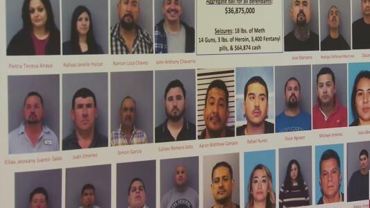 Operativo contra el narcotráfico en Madera deja decomiso de armas, drogas y 38 personas detenidas
