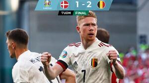 Bélgica sufre, pero va a Octavos en emotivo encuentro ante Dinamarca