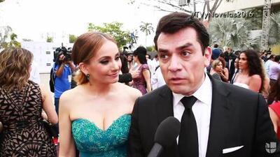 Jorge Salinas ya tiene tres grandes premios con Elizabeth Álvarez y sus hijos