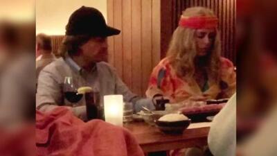 Enrique Peña Nieto y su novia Tania Ruiz causan sorpresa disfrazados en un restaurante de Nueva York