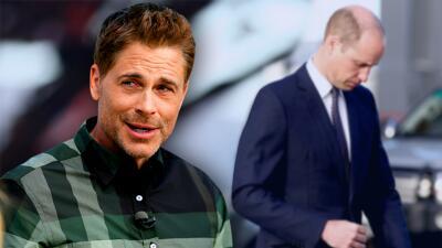 """Estrella de Hollywood critica al príncipe William por su """"traumática"""" pérdida de cabello"""