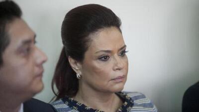 Detienen a la exvicepresidenta de Guatemala Roxana Baldetti