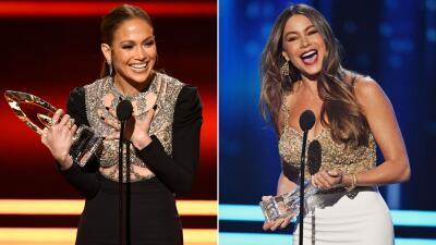 Jennifer Lopez y Sofía Vergara ganan en los People's Choice Awards 2017