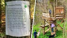 """""""Vecinos malaleche"""": HOA obliga a padre a derribar la casa del árbol de sus hijos y le recuerda a Raúl Brindis sus experiencias con la asociación"""