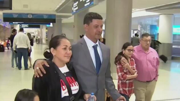 Qué opciones tiene Misael Burgos de extender su estadía en EEUU tras vencerse su visa humanitaria