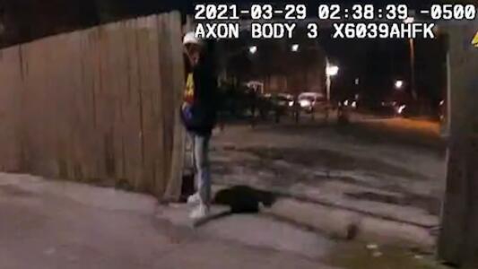 Imágenes fuertes: Difunden el video del tiroteo donde se ve cómo un policía mató al niño latino Adam Toledo